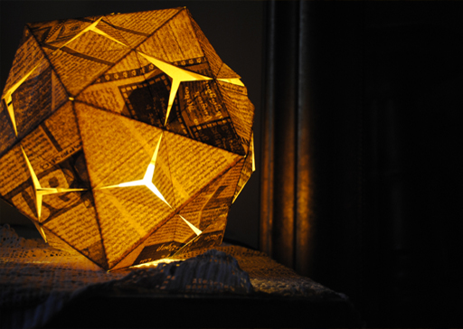 georgian ikoza lamp design by KanguLUM studio