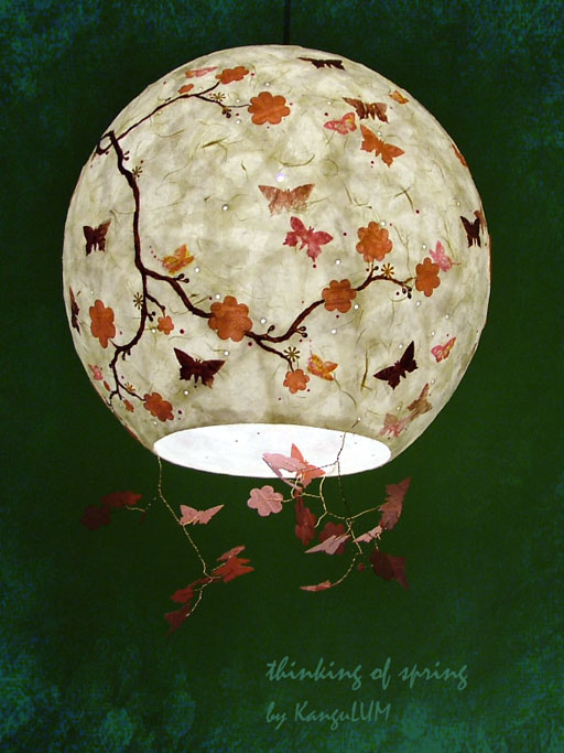 bloom lamp design by KanguLUM